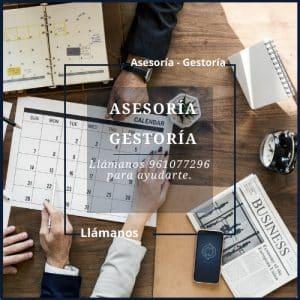 ASESORÍA LABORAL - ASESORÍA FISCAL - ASESORÍA CONTABLE Valencia 961 077 296